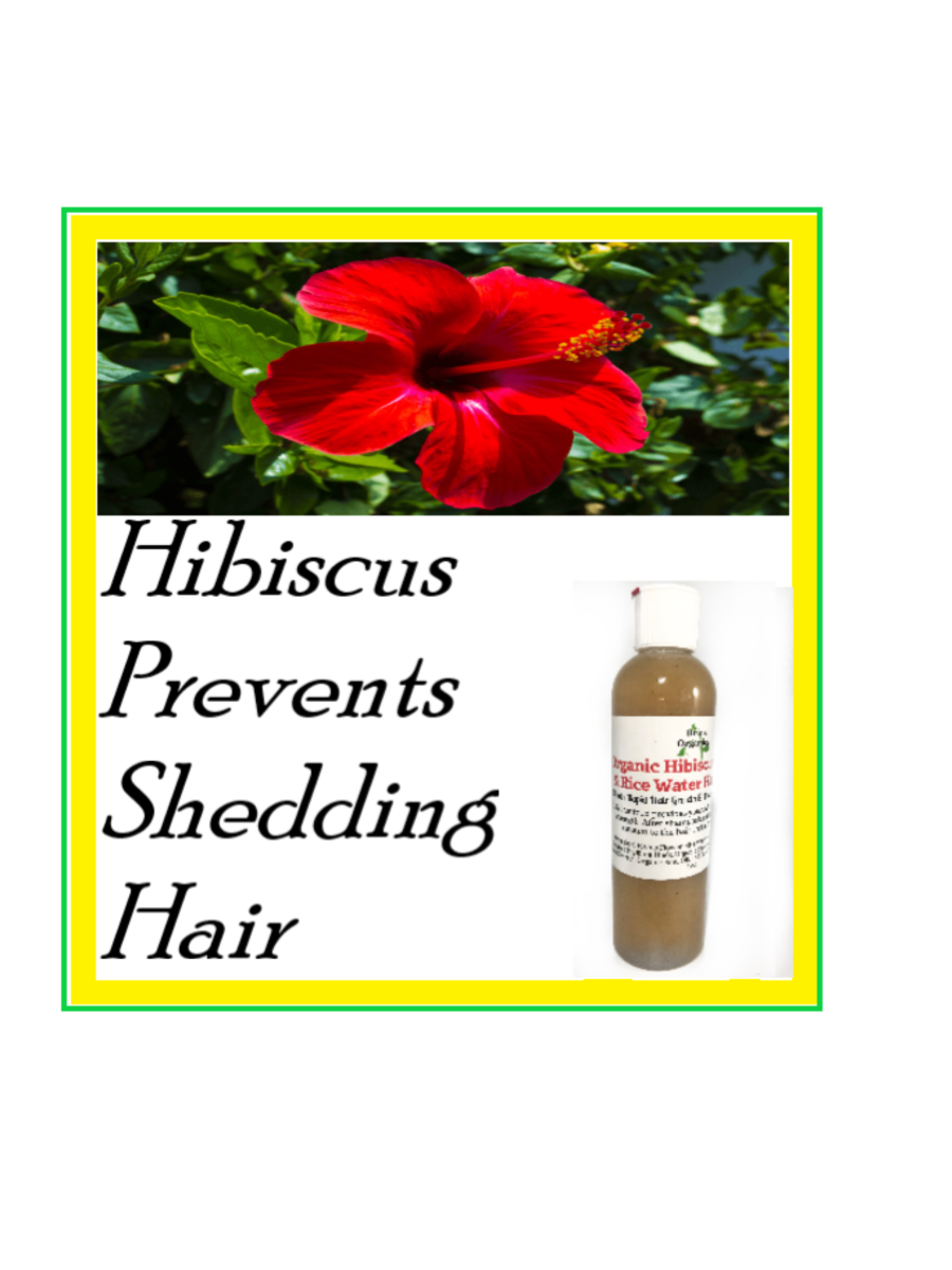 Put this Flower in Your Hair.  This rice water hair product is slightly fermented. There was a study made in 2012 and shows that fermented rice water has a higher level of antioxidants, which repairs damaged hair.