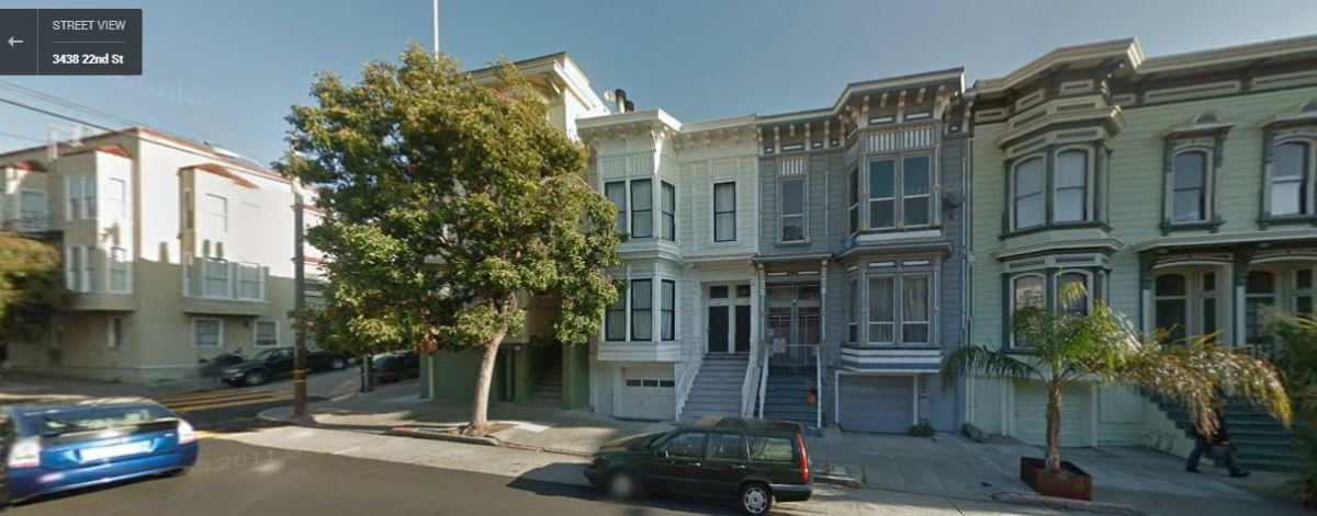 3438 22nd St - Home of Christopher Hillard Jr in 1910