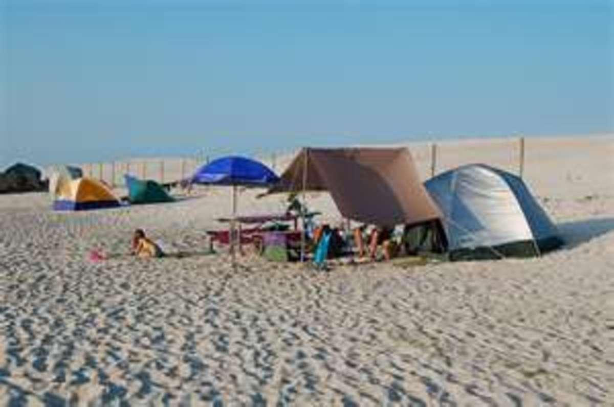 Camping on Assateague