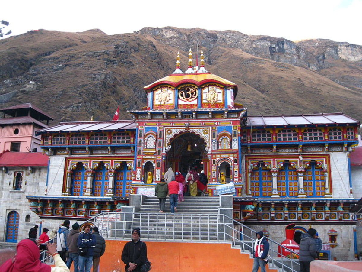 The Sacred Places of Hindus-Some General Information for the Pilgrims