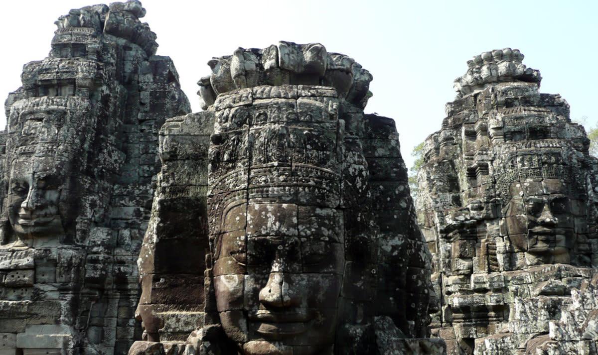 Angkor effigies