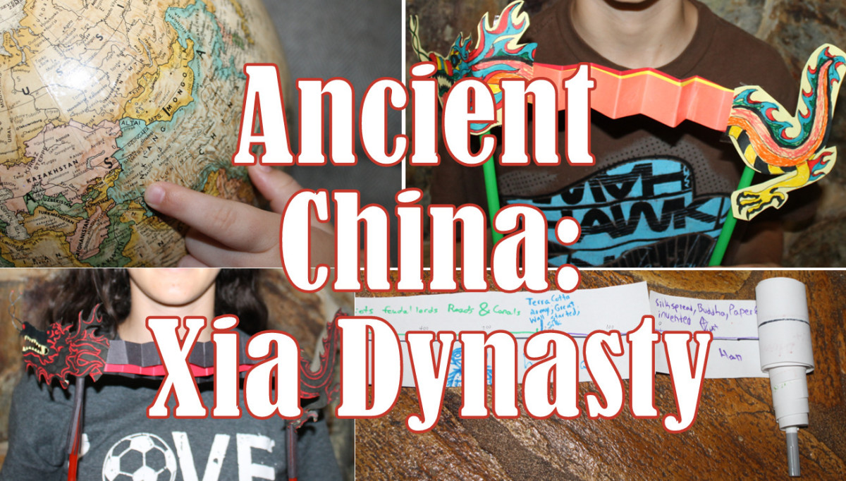 Hands on Lesson for Plan on Ancient China & the Xia Dynasty