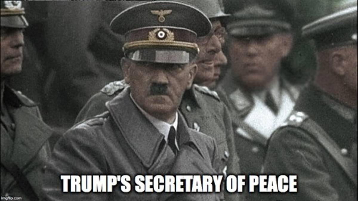 """""""Trump's Secretary of Peace"""" by yugenro is marked with CC PDM 1.0"""