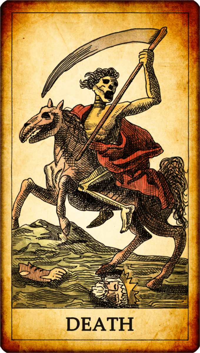 The Death card comes for everyone. No one can avoid sudden change. The card doesn't necessarily indicate an actual, literal death. It more than likely is hinting at a transformation.