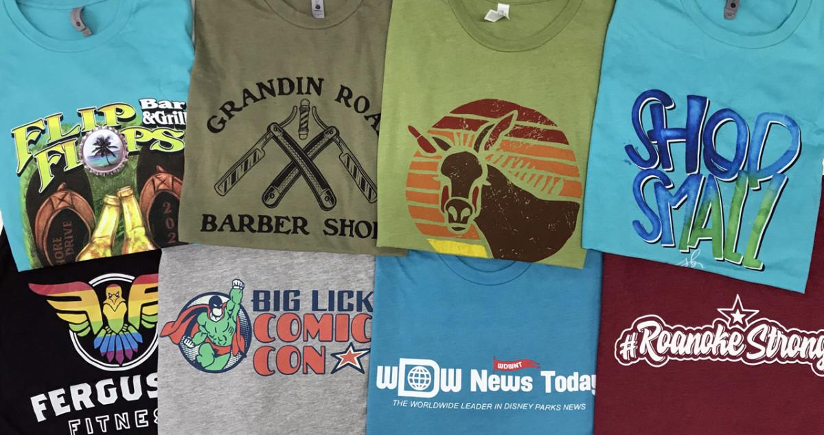 Trendy Printed T-shirts Designs