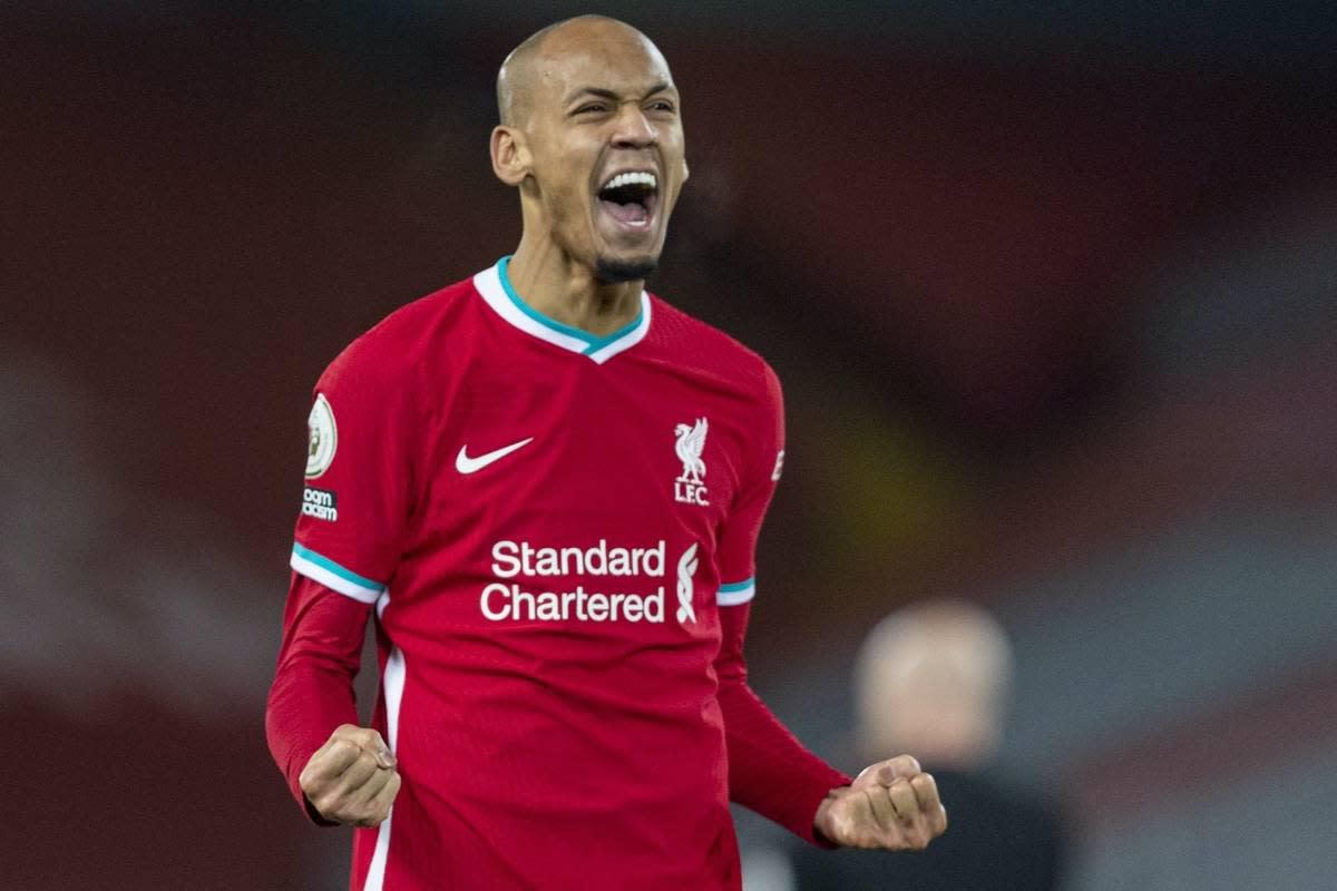Fabinho, the holding midfielder for Liverpool FC.