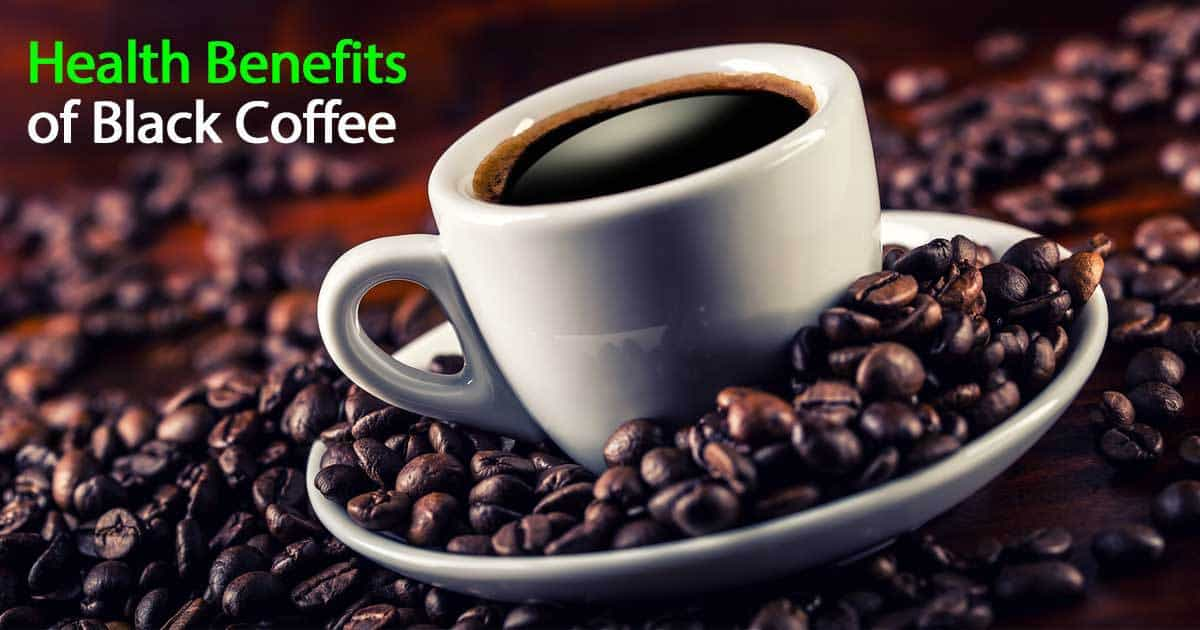 Black coffee is rich in antioxidants, which can fight cell damage and reduce your risk of serious health conditions like cancer and heart disease. Coffee is the primary source of antioxidants in most American diets.