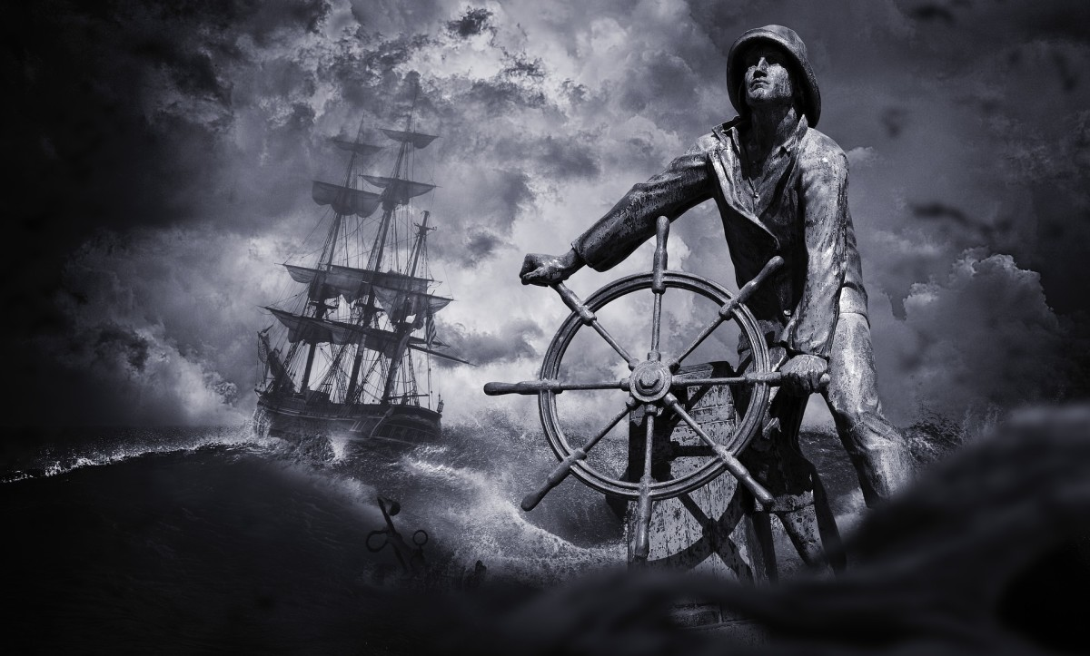 No matter what, I keep sailing onward. Life, love, happiness, they're just over the horizon.