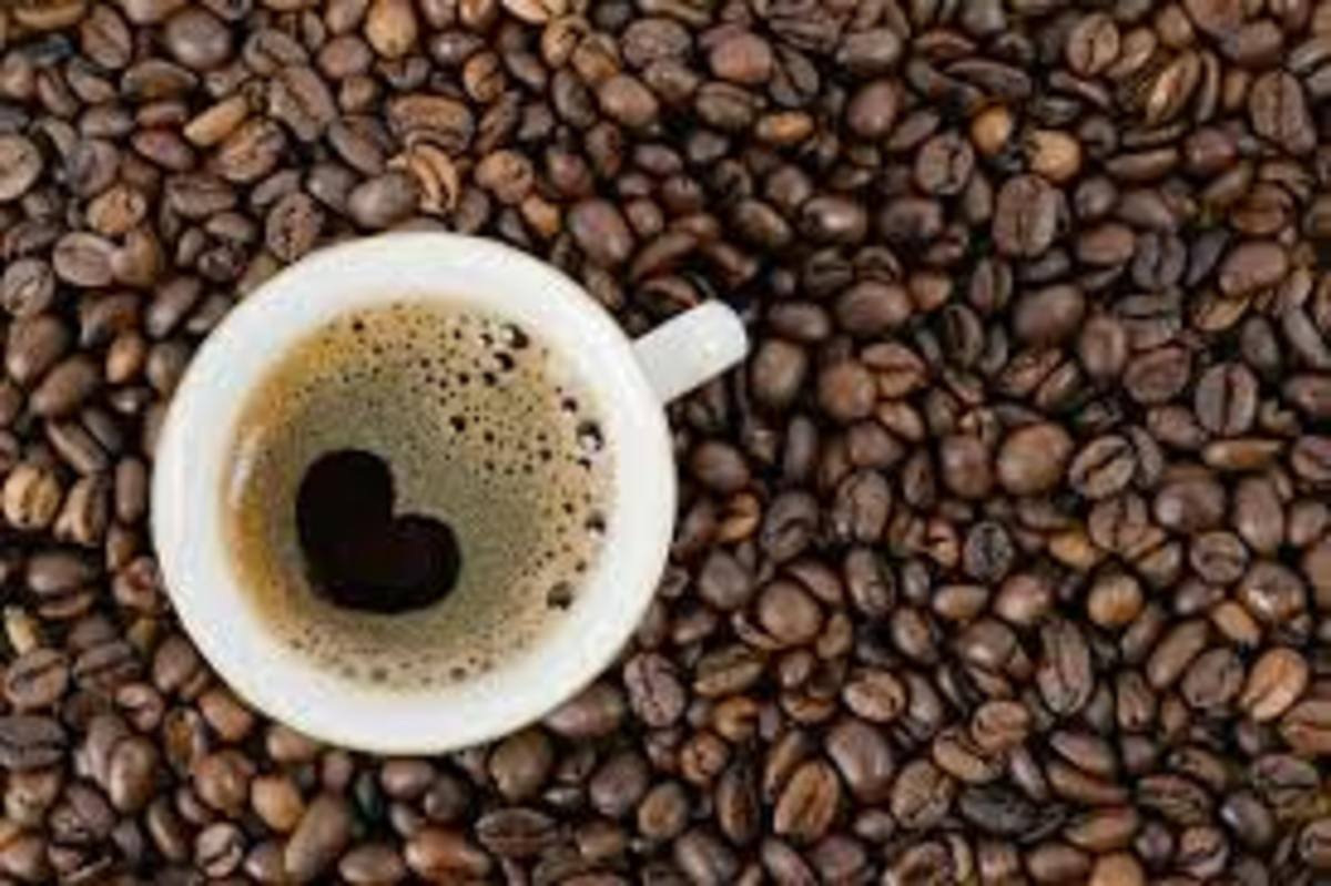 Caffeine in coffee is a strong kick, can cause jitters The way coffee works is that it gives you a nice jolt of energy a couple of minutes after ingesting it, and you will almost suddenly feel awake. ... This is because your body can only handle so