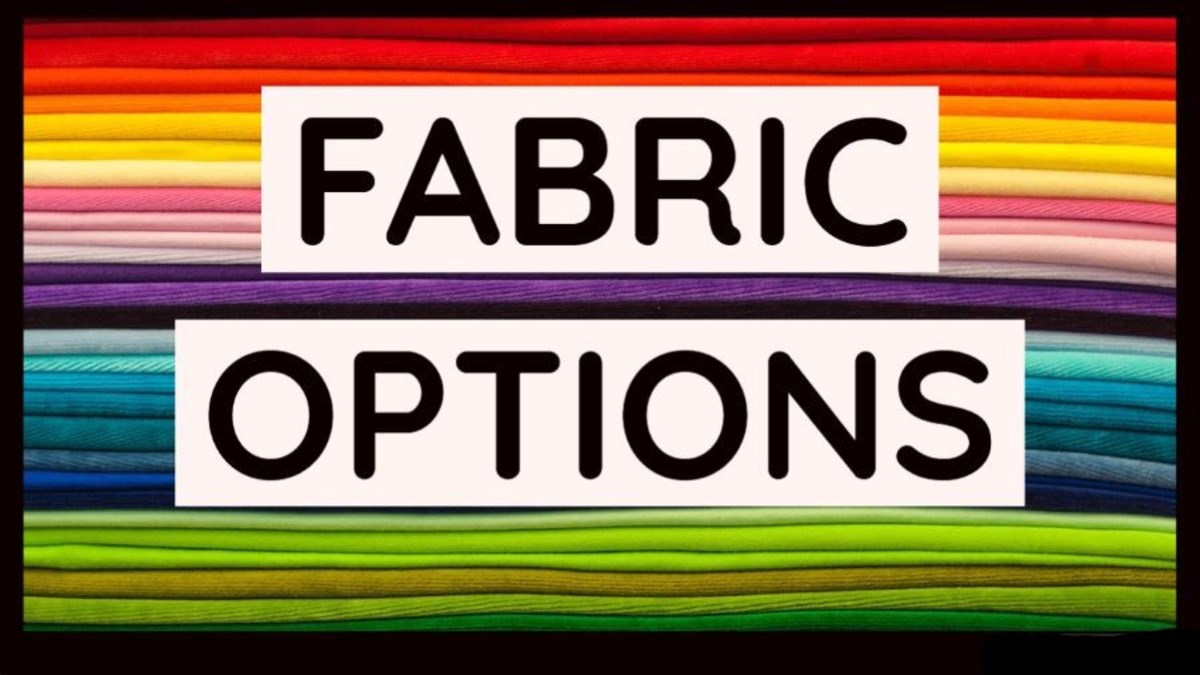 The following list details some of the most common fabrics available for panties.