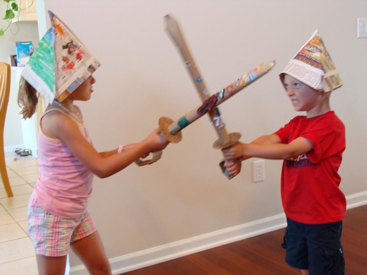 Pirate sword fun!