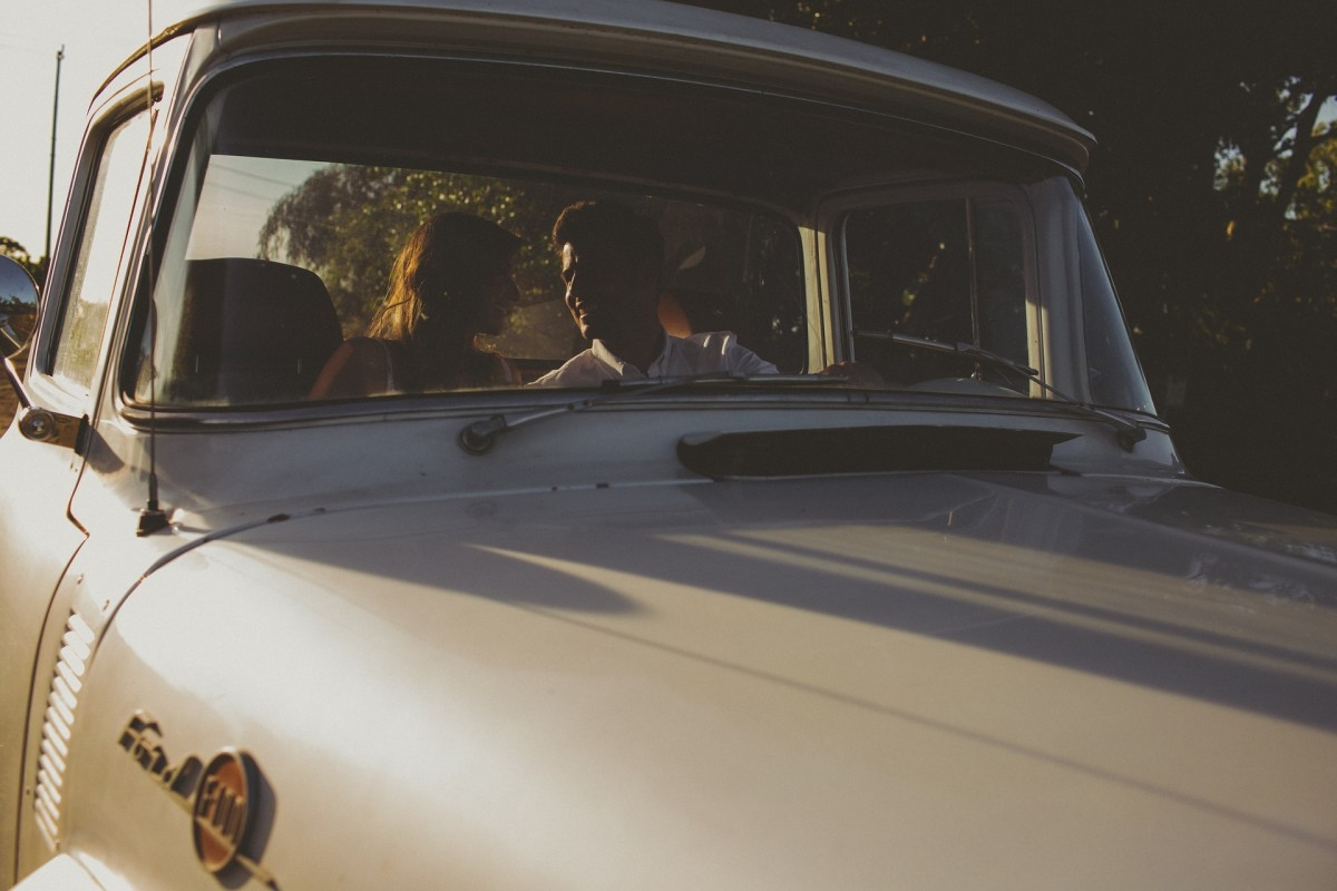 What's one small way to be romantic? Take a ride together!