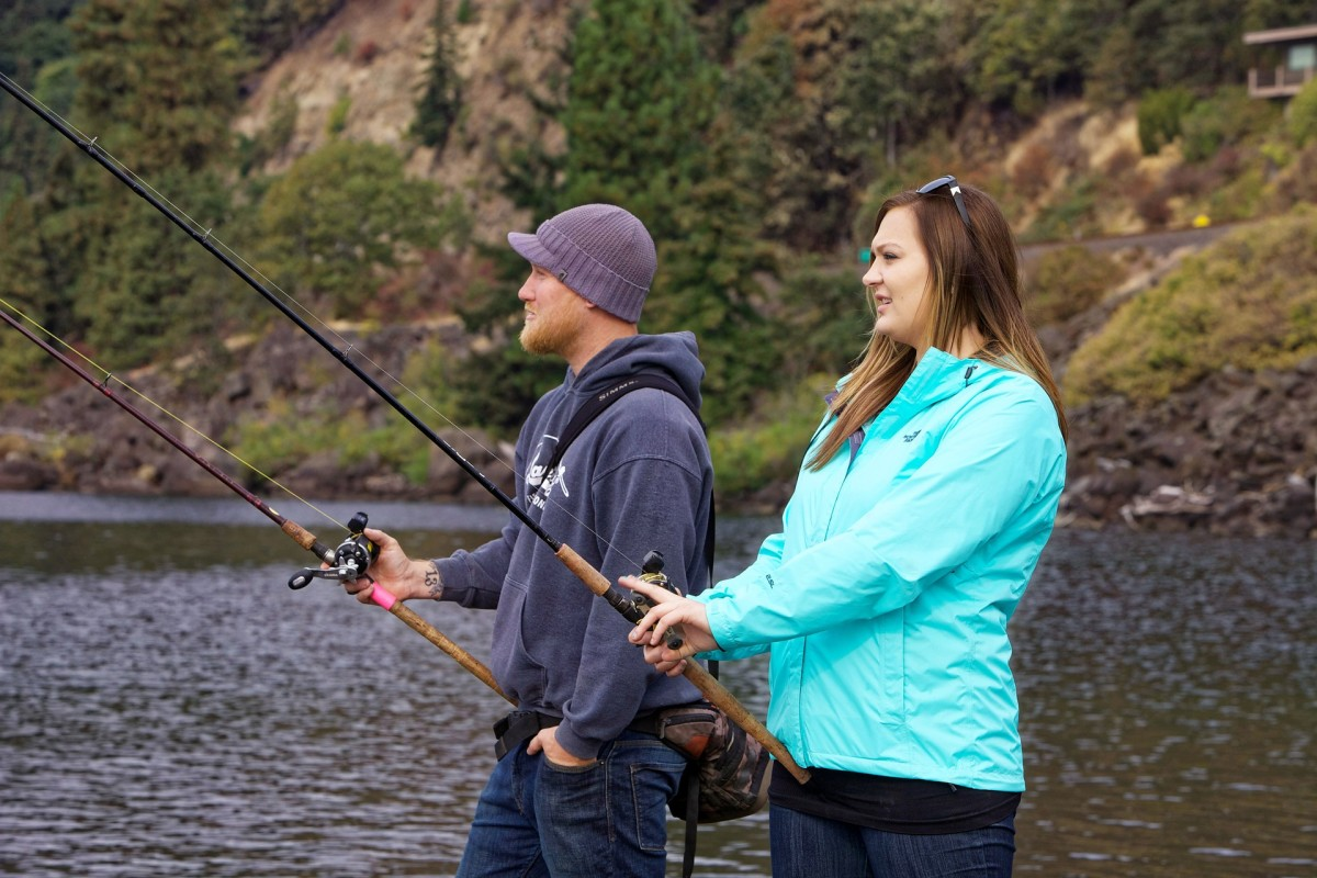 Enjoy a romantic moment together while sharing your hobby.