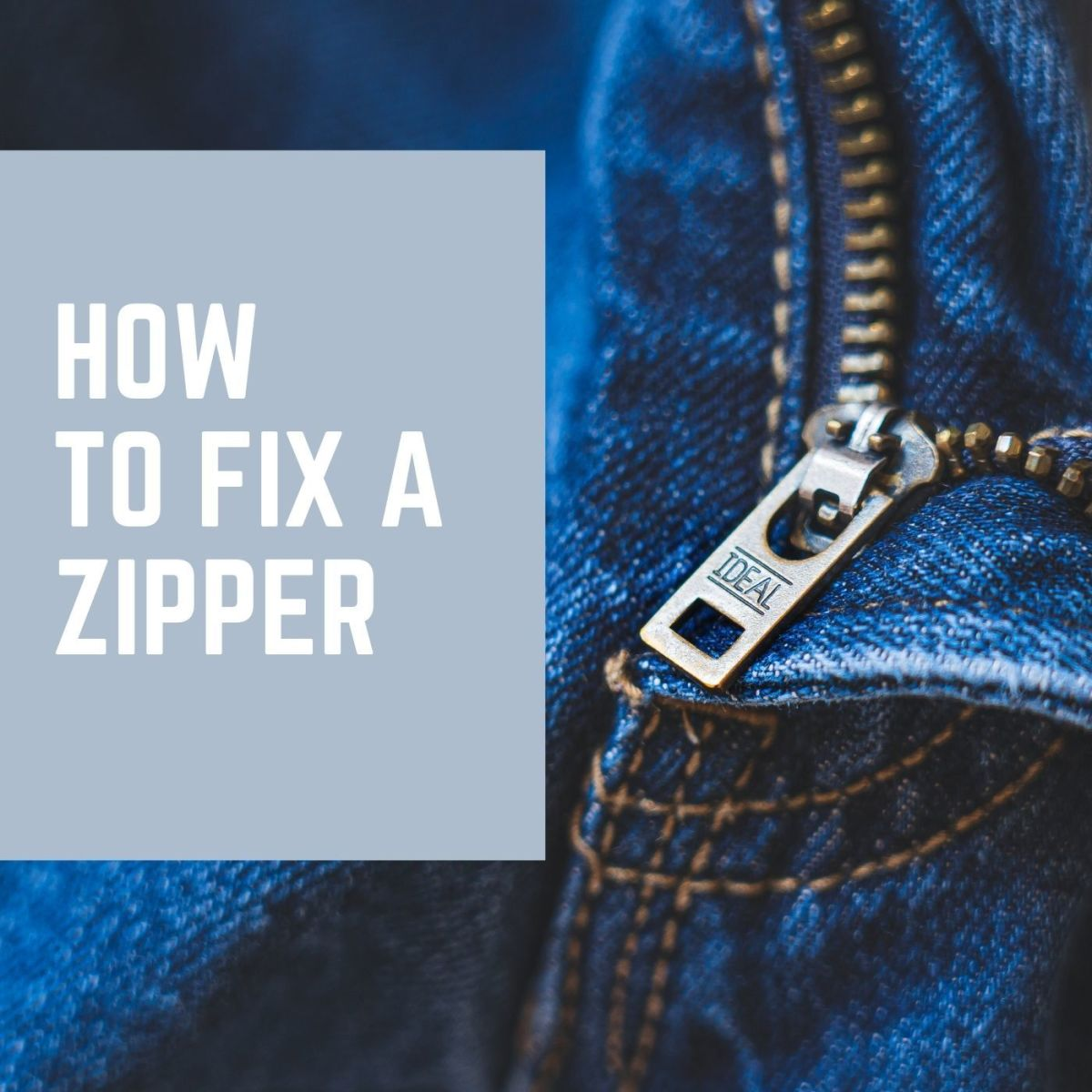Zipper repair doesn't have to be hard!