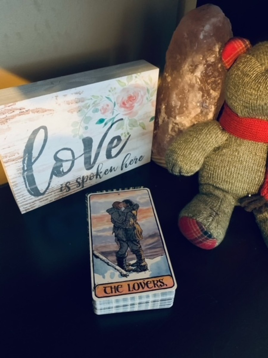 The Lovers from the Game of Thrones Tarot