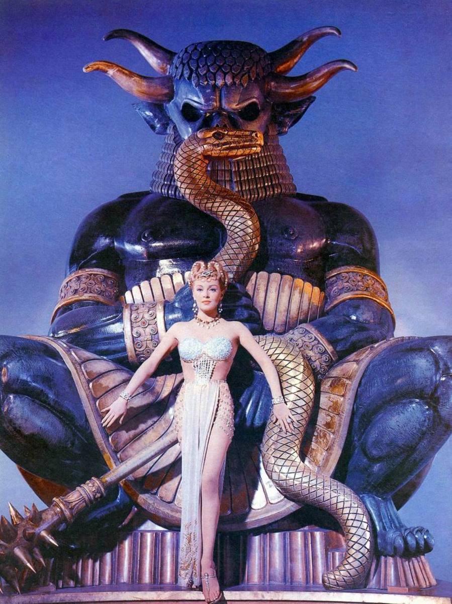 The Prodigal (1955) Publicity still