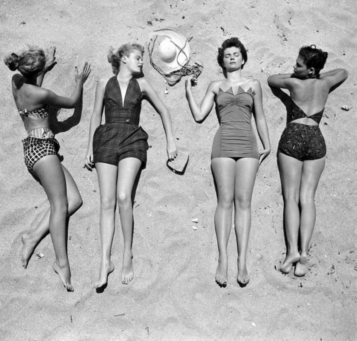 12fdddf7cce49 Vintage Bathing Suits | HubPages
