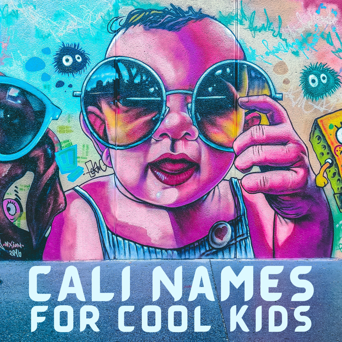 A list of Californian names for babies.