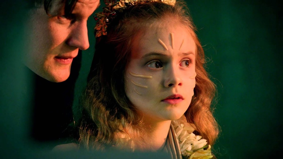 The Doctor Talks to Merry Galel, the Queen of Years, about her uniqueness in the universe.