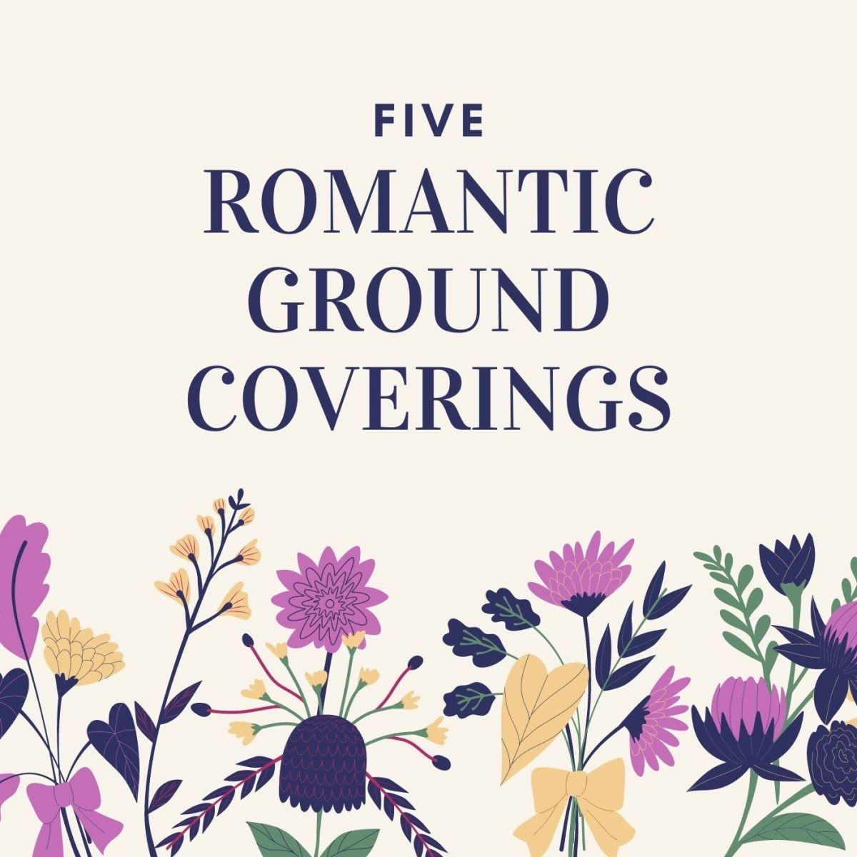 These five beautiful garden covers will spark inspiration.