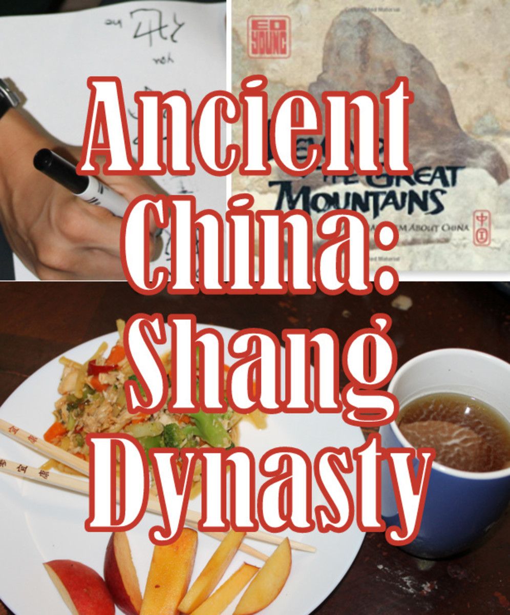 Hands on Lesson Plan for Kids on Ancient China & the Shang Dynasty
