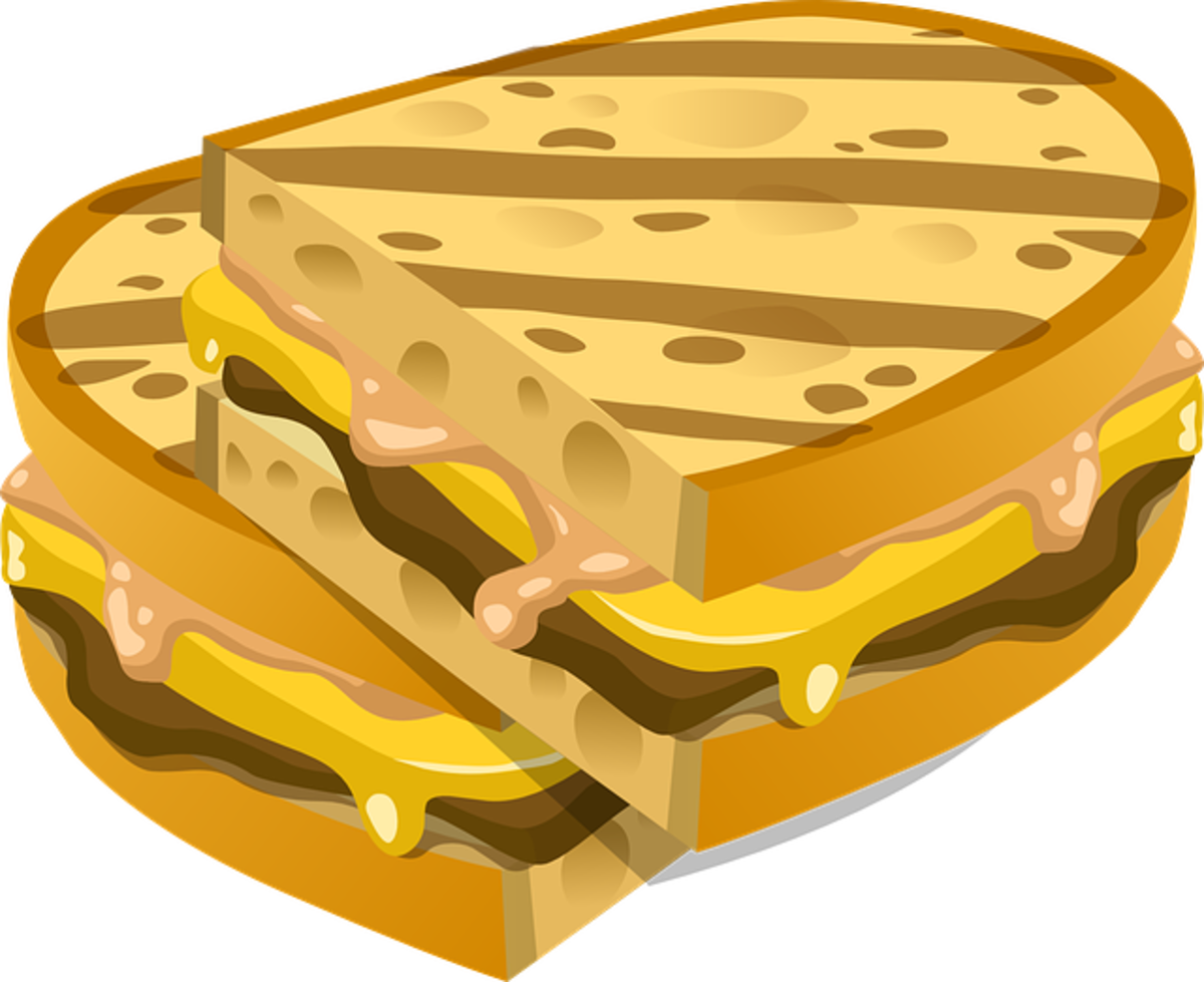 Cartoon Grilled Cheese