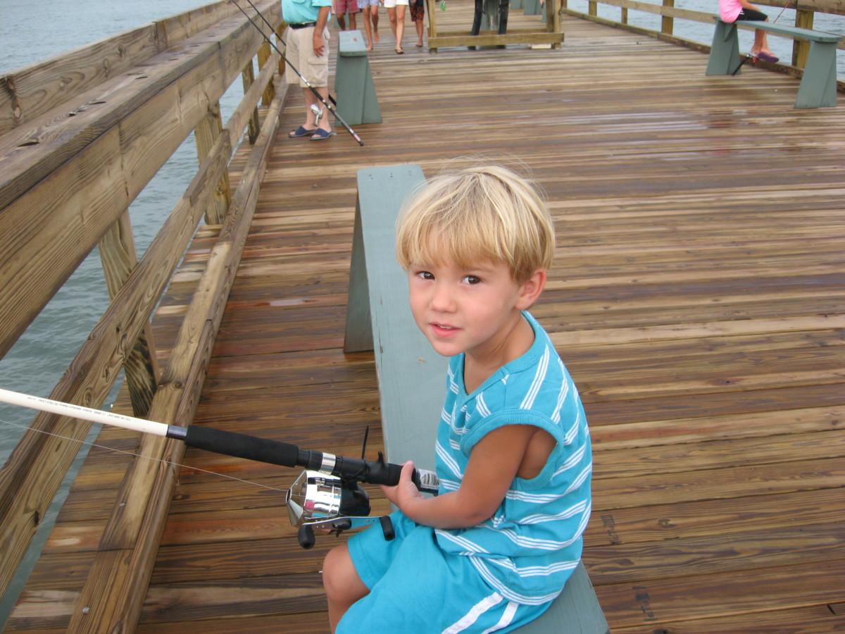 Fun Activities For Kids: Fishing!