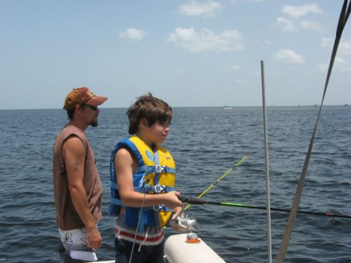 Fishing the Florida flats in the Gulf of Mexico