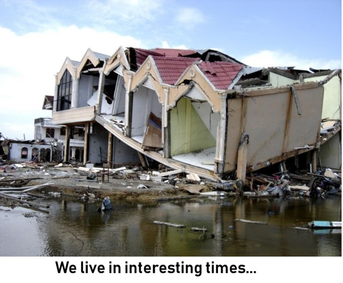 Climate change brings us an increasing number of natural disasters. It's best we prepare.