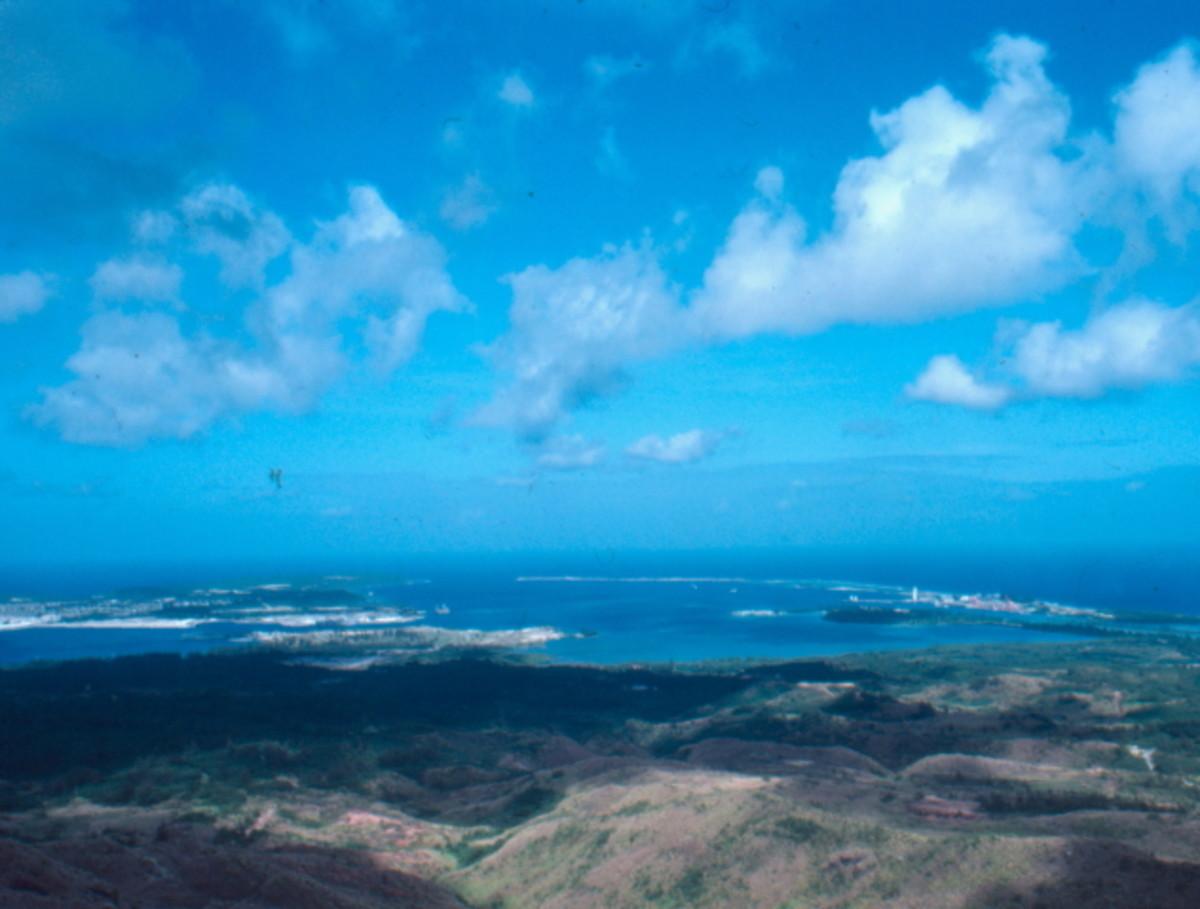 Apra Harbor from Nimitz Hill