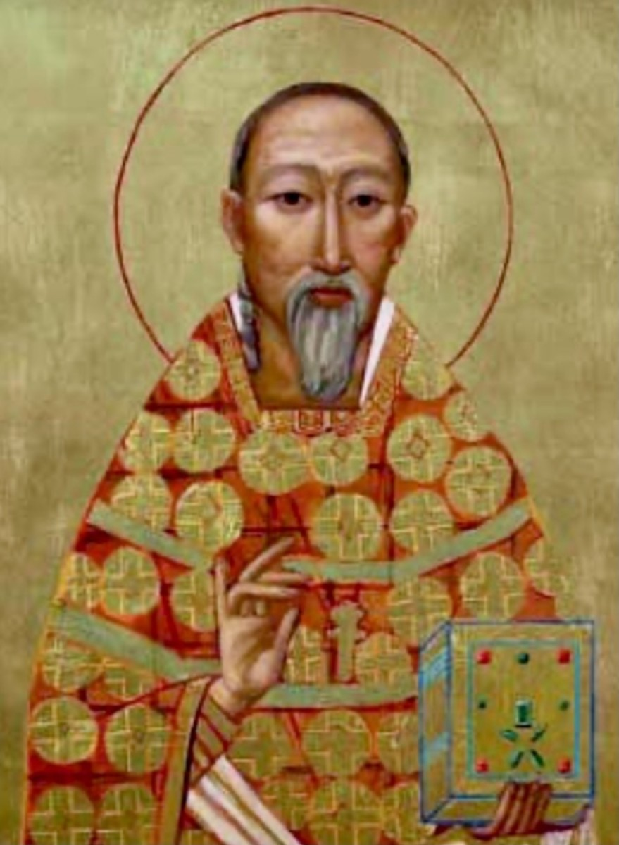 Saint Augustine Zhao Rong and Companions, pray and intercede for us....