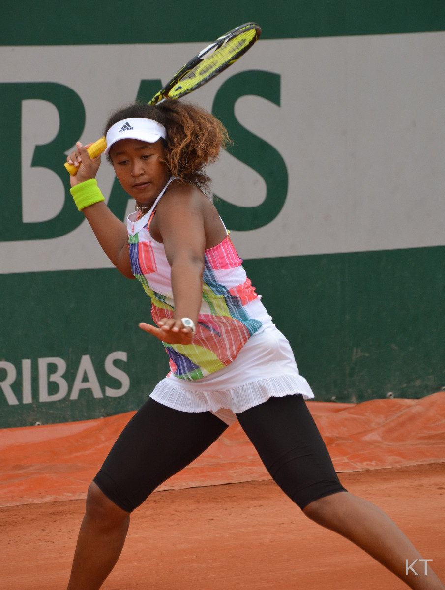 Naomi Osaka at Roland Garros