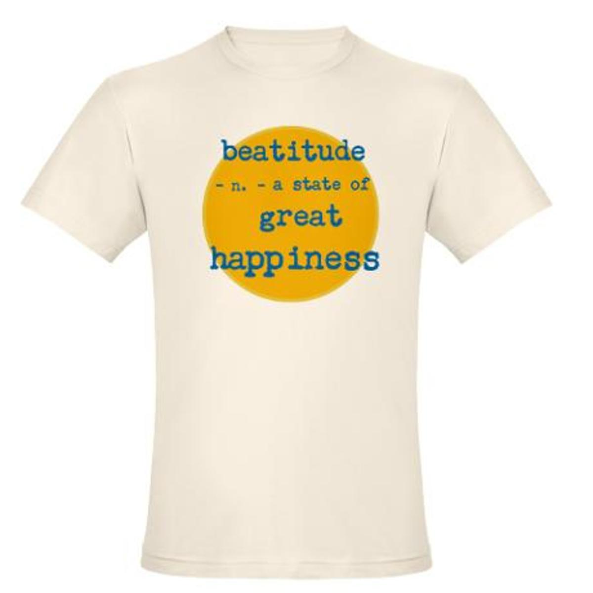Beatitude: a state of great happiness