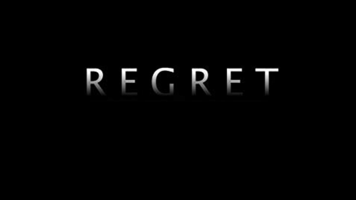 God Regrets Things? Doesn't Perfect Mean no Regrets?