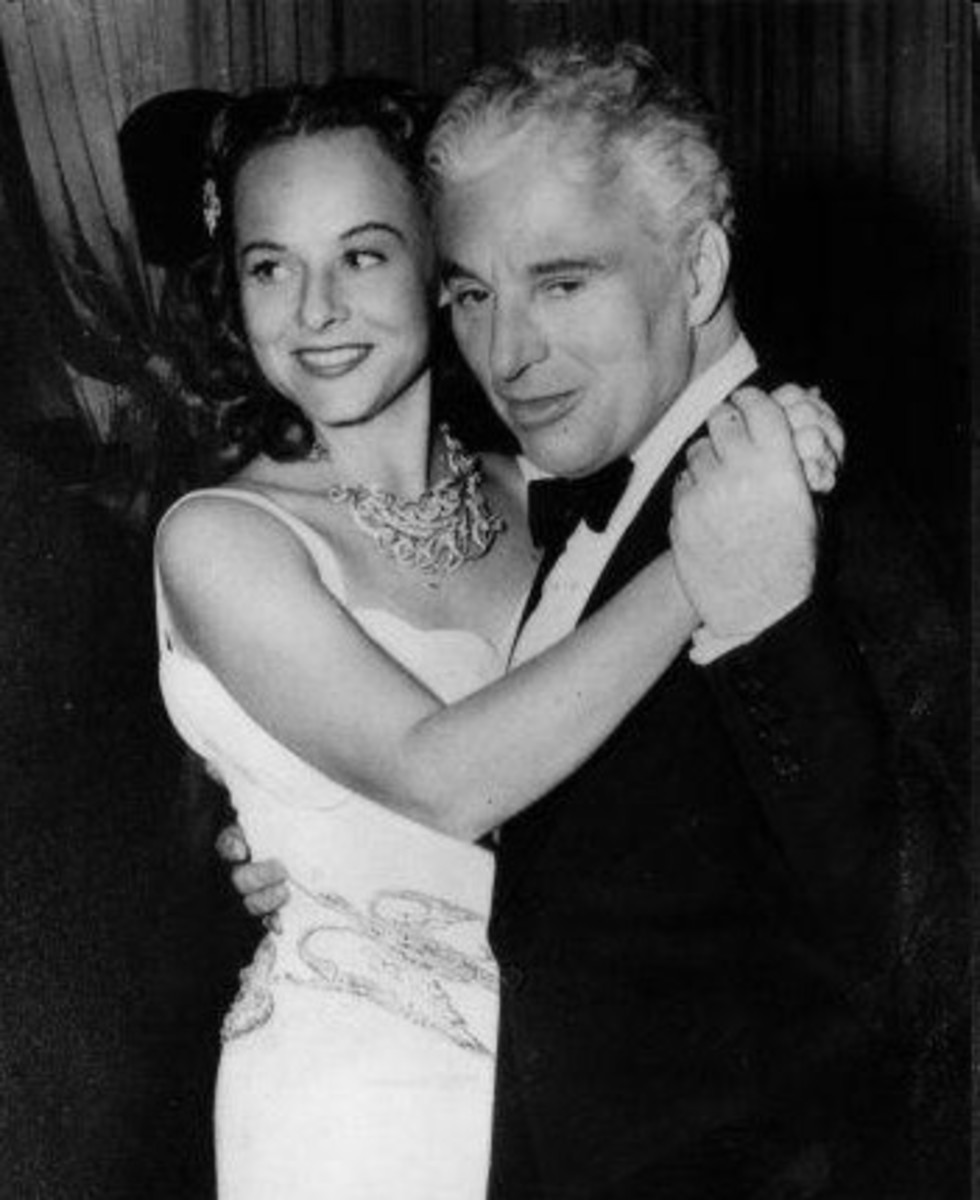 Charlie and Paulette Goddard