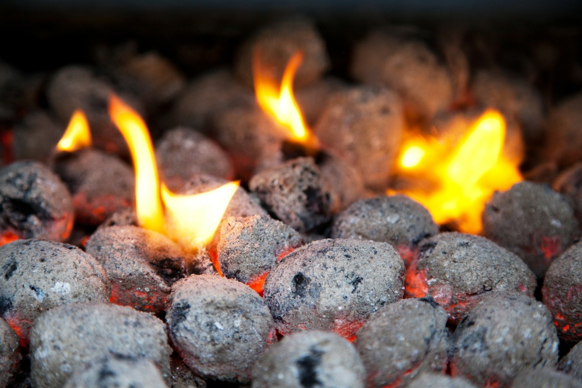 The ash content is the percentage of the ratio of weight of ashes after the briquette has burnt completely to the weight of the briquette before it was burnt.