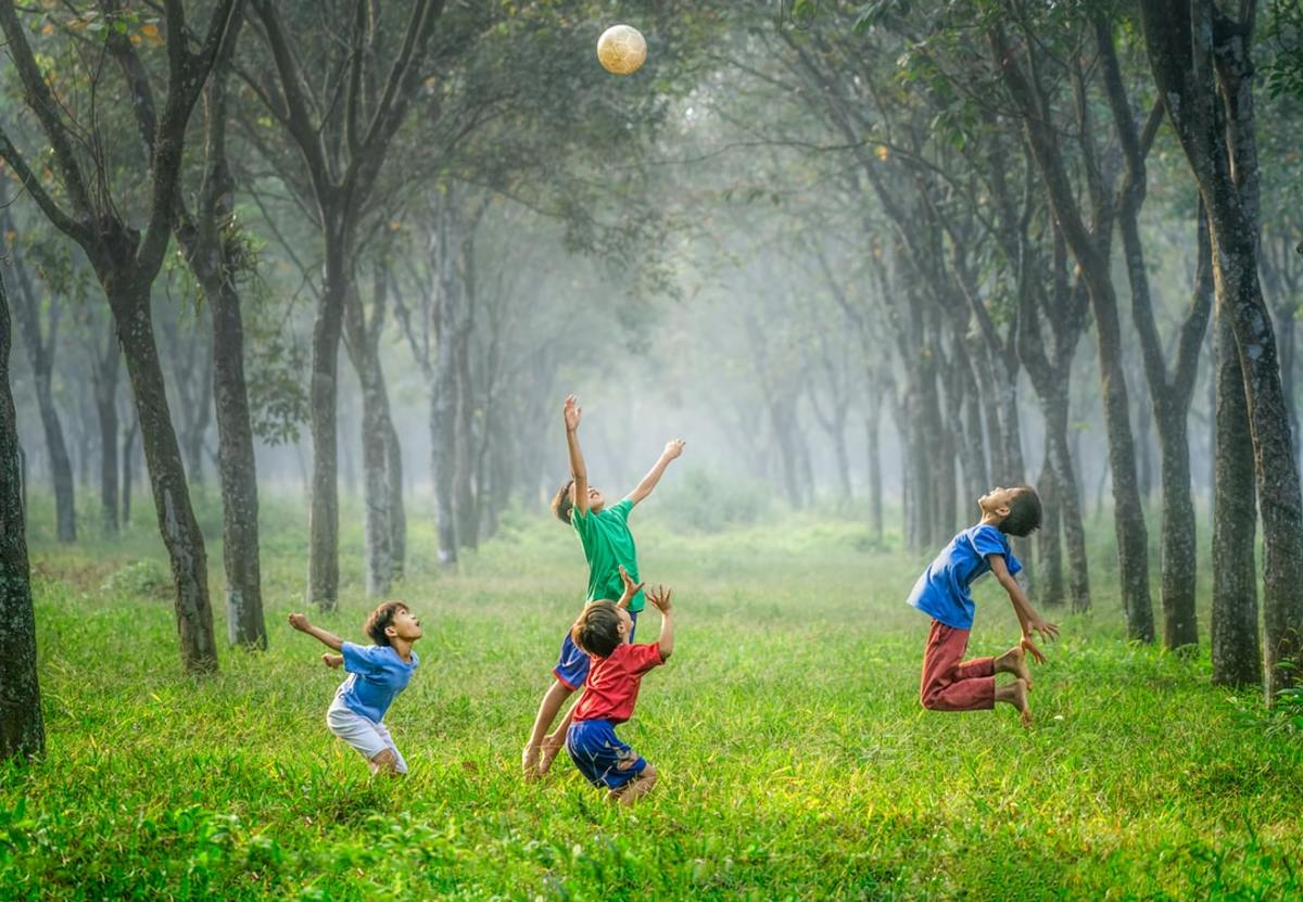 Enjoy your childhood to the fullest.