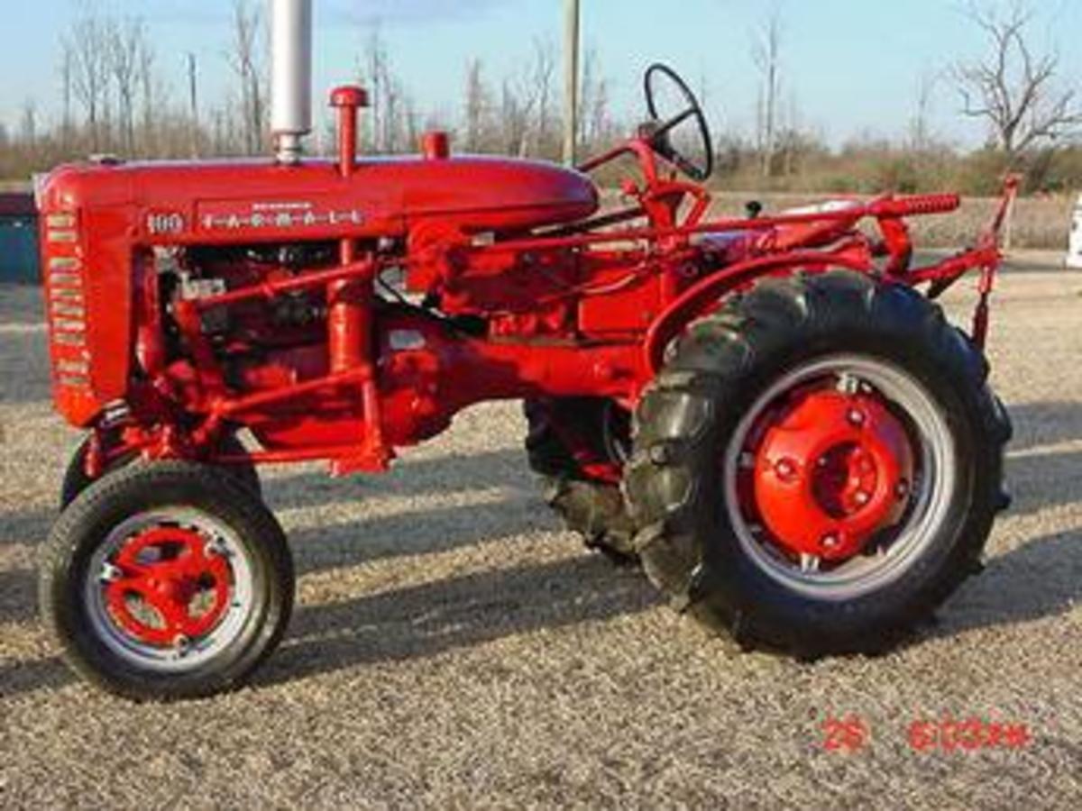 Real Men Like Tractors