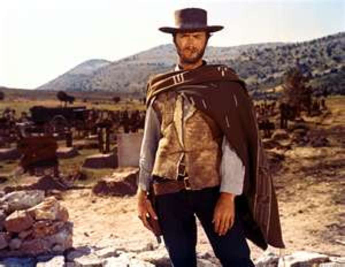"Clint Eastwood in: ""The Good, the Bad, and the Ugly"" (1968)"