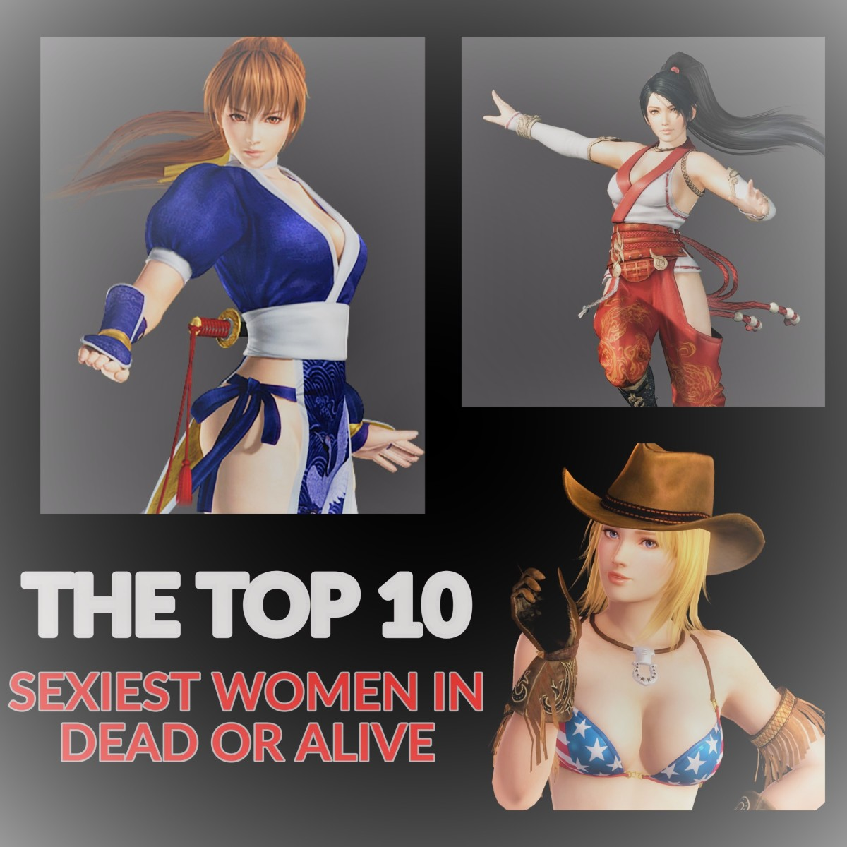 The Top 10 Sexiest Women in Dead or Alive
