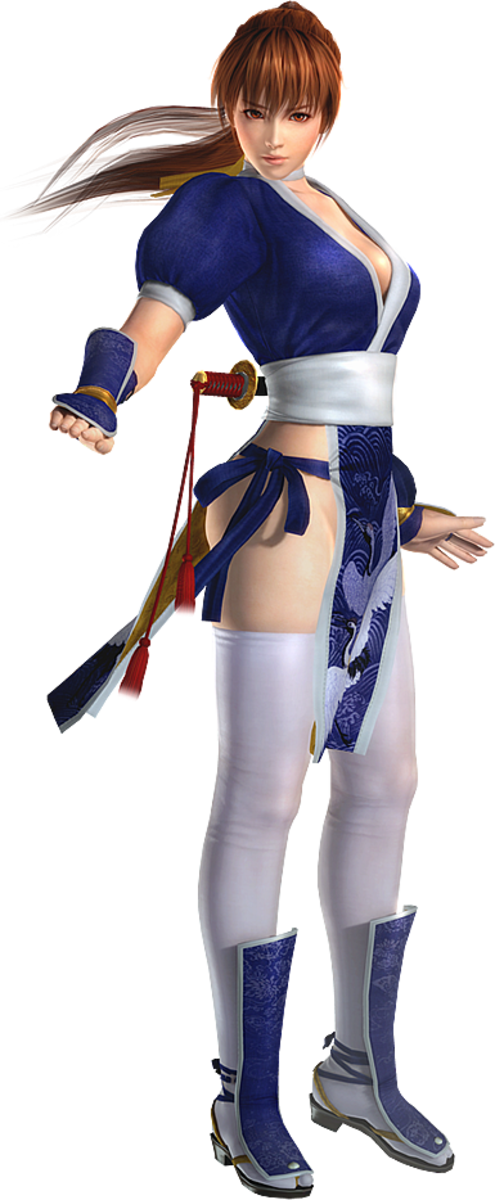 """The beautiful Kasumi; the sexiest woman in """"Dead or Alive."""""""