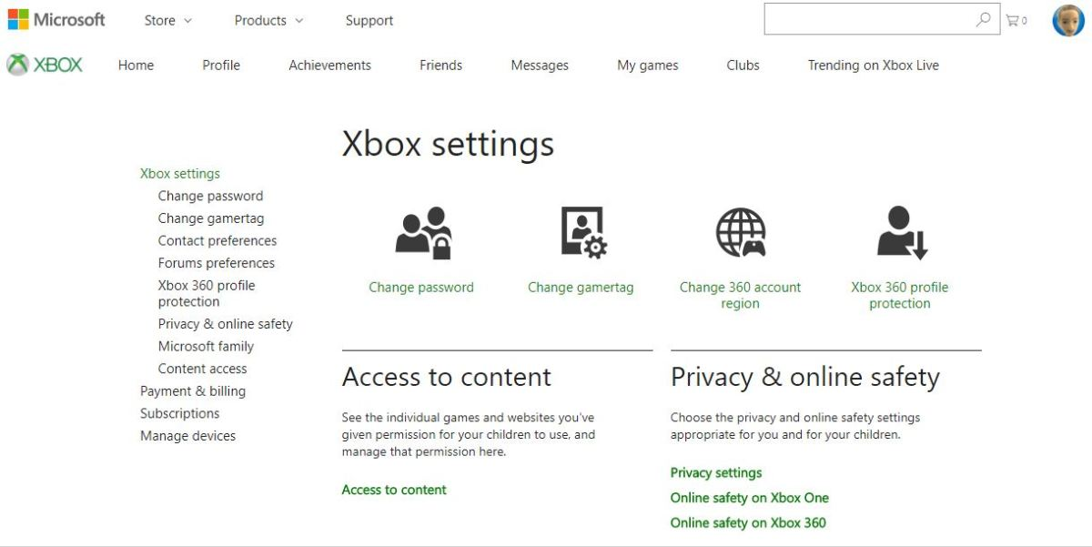 "Select ""Change Gamertag,"" either beneath Xbox Settings on the left side of the screen, or beneath Xbox Settings in the center of the screen."