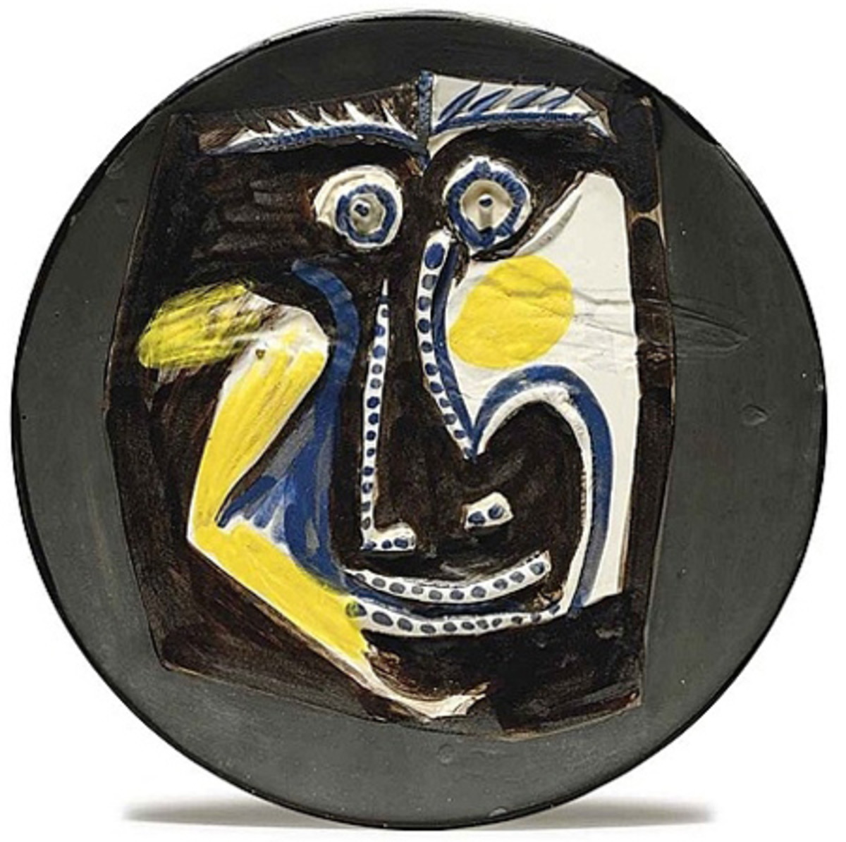 Picasso, a Plate