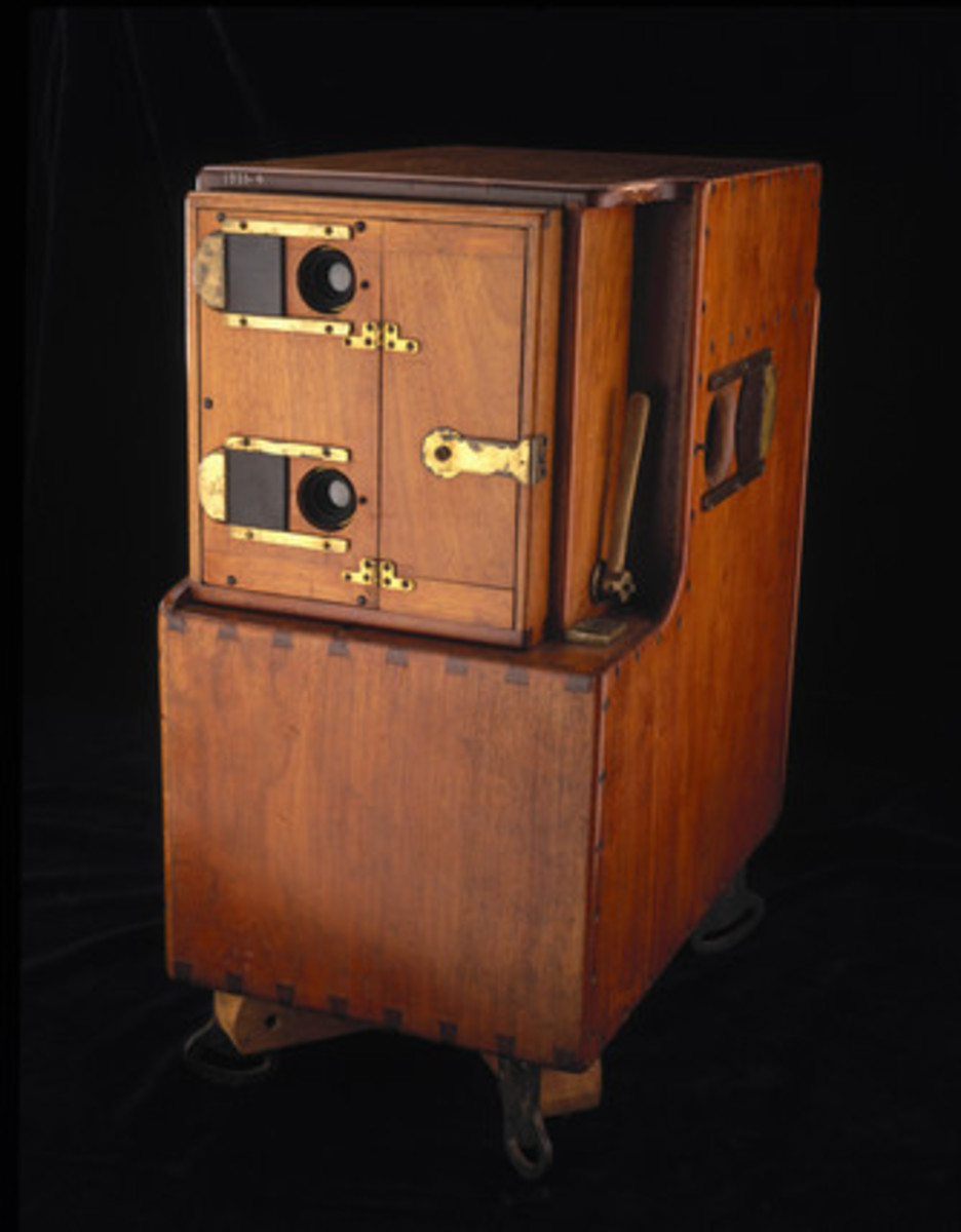 Single Lens motion picture camera invented by Louis Le Prince