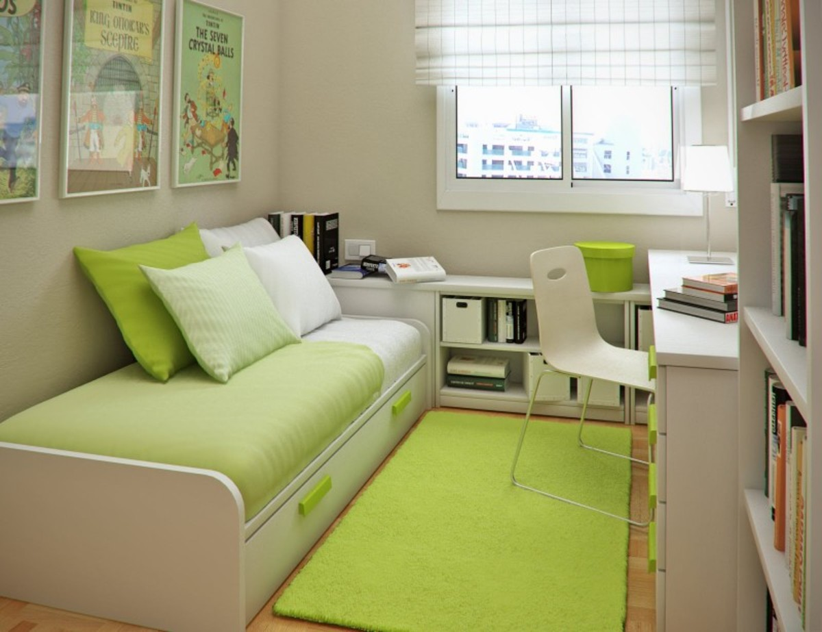 How to Make a Small Room More Spacious - 11 Ways to Decorate Your Small Room