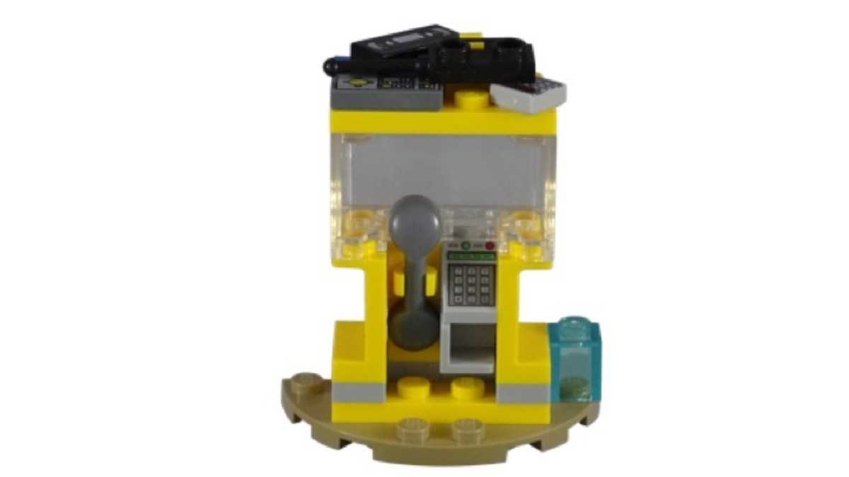 LEGO Captain Marvel and Nick Fury Polybag 30453 Phonebooth