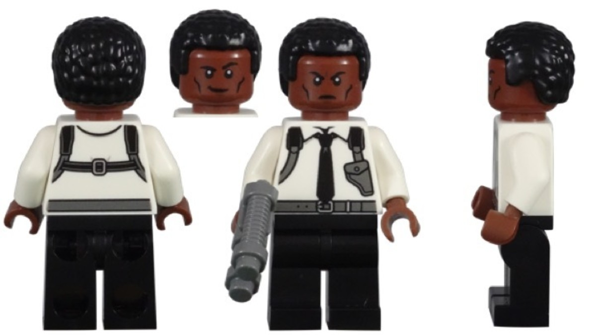 LEGO Young Nick Fury Minifigure