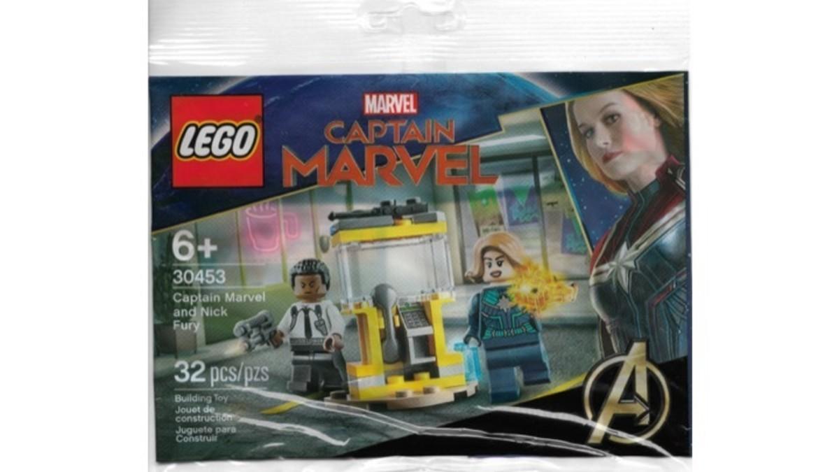 LEGO Captain Marvel and Nick Fury Polybag 30453