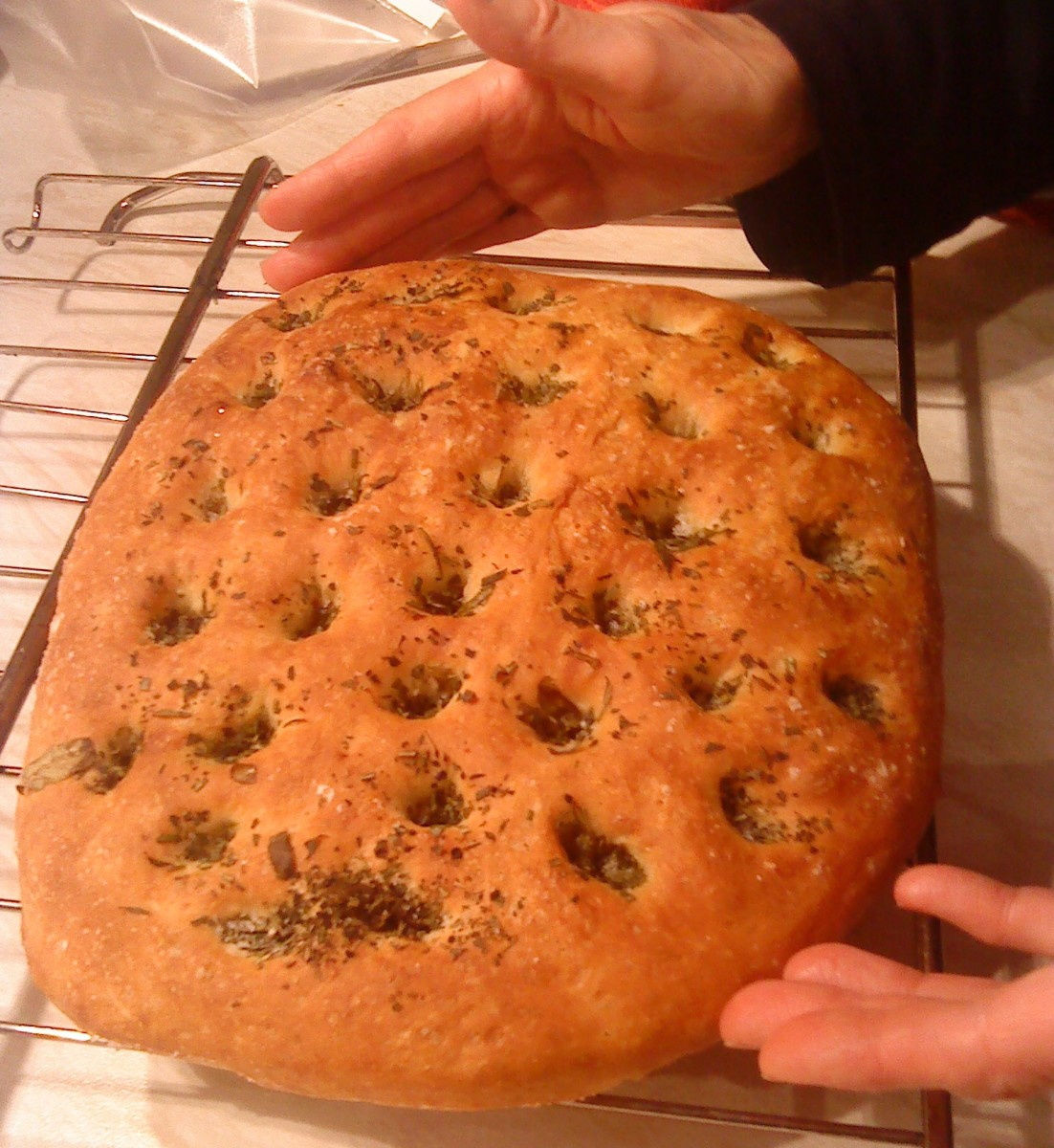 Make Delicious Rosemary Herb Focaccia Bread with this Simple Recipe