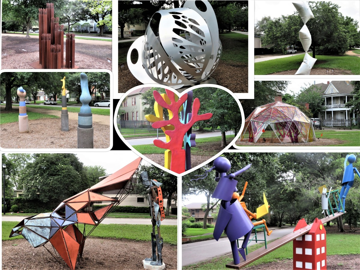 True North Sculpture Exhibit 2021 Collage